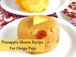 Pineapple Sheera Recipe For Durga Puja Video