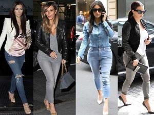 Kim Kardashian Skinny Jeans Style To Copy