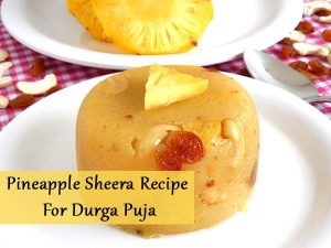 Pineapple Sheera Recipe For Durga Puja Video
