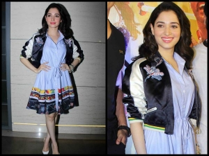 Tamannaah Bhatia Bomber Jacket Is A Must Have