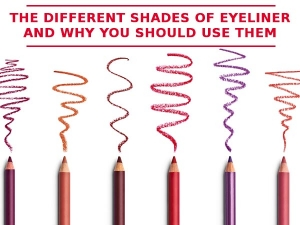 The Different Eyeliner Shades And Why You Should Use Them