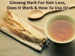 Ginseng Herb For Hair Loss Does It Work And How To Use It