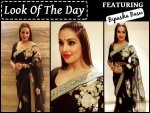 Look Of The Day Bipasha Basu In Sabyasachi