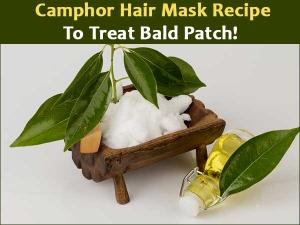 Camphor Hair Mask Recipe To Treat Bald Patch