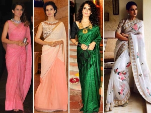 Kangana Ranaut Saree Lookbooks To Steal For The Wedding Season