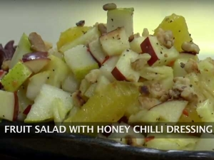 Lose Weight With This Awesome Fruit Salad With Honey Chilli Recipe