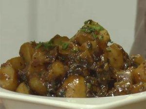 Water Chestnut And Mushroom Fry Video