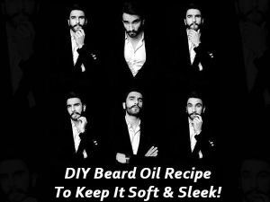 Diy Beard Oil Recipe To Keep It Soft And Sleek