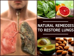 Natural Remedies To Restore Lungs Grapefruits Almonds Avocado