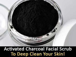 Activated Charcoal Facial Scrub To Deep Clean Your Skin