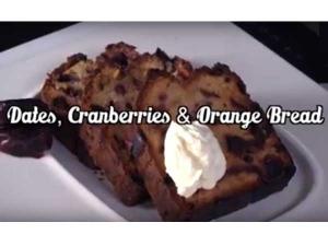 How To Prepare Cranberries And Orange Bread