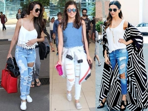 This How You Should Style Your Distressed Jeans
