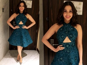 Tamannaah Bhatia Filmfare Pre Awards Party In Ramikadi