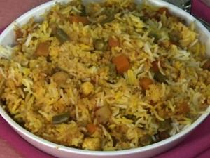 Step By Step Procedure For Vegetable Biryani
