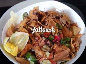 Healthy Fattoush Salad Recipe