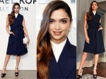 Deepika Padukone Wearing Michael Kors At New York Fashion Week