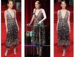 Emma Stone Red Carpet Look Bafta Awards
