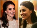 Kate Middleton Wearing Anita Dongre Earrings