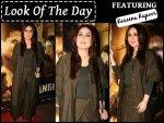 Kareena Kapoor At The Screening Of Rangoon Wearing Chola The Label