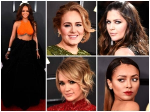 The Top Beauty Looks From The Grammys