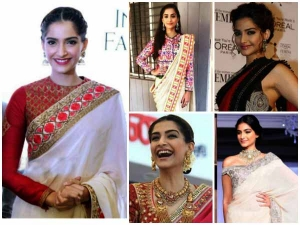 Sonam Kapoor Sarees That We Would Love To Have