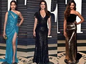 Deepika Priyanka Freida At Oscars After Aprty