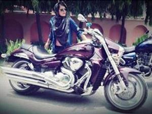 Meet Roshni Misbah The Hijabi Bikerni