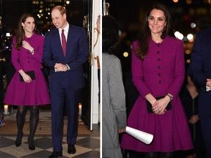 Kate Middleton Wears Oscar De La Renta