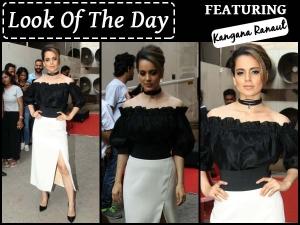 Look Of The Day Kangana Ranaut Fashion
