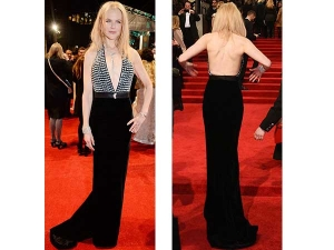 Nicole Kidman Red Carpet Dress Bafta Awards