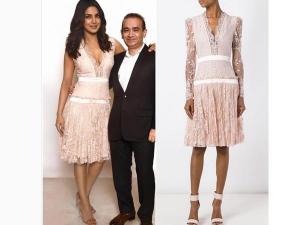 Priyanka Chopra Wearing Alexander Mcqueen