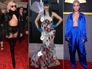 Shocking Outfits At Grammys