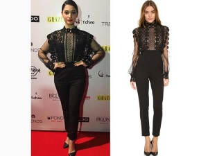Tamannaah Bhatia Wearing Mr Self Portrait Take A Look