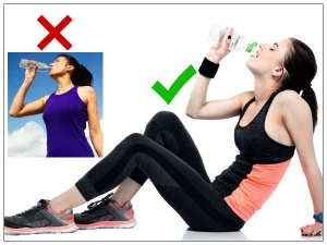 Is It Bad To Drink Water While Standing
