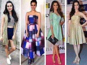 Dresses From Shraddha Kapoor Wardrobe Take A Look