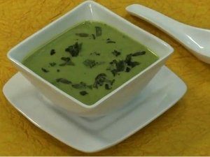 Green Peas And Mint Soup
