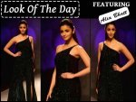 Look Of The Day Alia Bhatt Walks For Namrata Joshipura