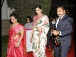 Deepika Padukone Wearing Sabyasachi Saree
