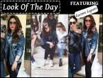 Look Of The Day Kareena Kapoor Flaunting Denim Jacket