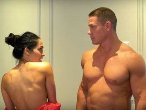 John Cena And Nikki Bella Stripped Naked For This Reason