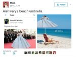 Funny Memes Of Aishwarya At Cannes