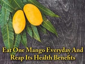 Reasons Eat Mango Everyday