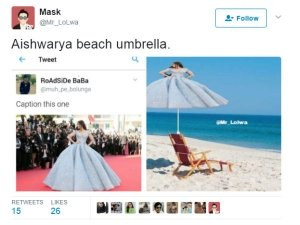 Funny Memes Of Aishwarya At Cannes