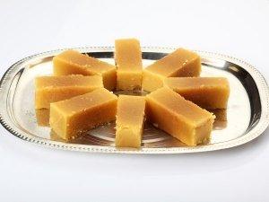 South Indian Style Mysore Pak Recipe For Narasimha Jayanti