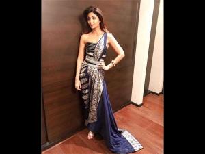 Shilpa Sheer Elegance At Dada Saheb Phalke Awards