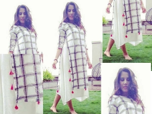 Sonnalli Seygall's Kurti-Dress Is Something You Would Love To Possess