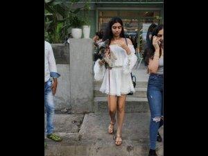 Inherited Elegance Khushi Kapoor S Latest Look Speaks Class