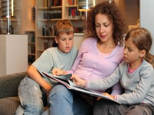 Reading Books To Kids Gives Their Brain A Boost