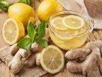 Lemon Ginger Detox Water For Weight Loss