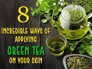Direct Application Of Green Tea On Skin